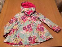 Job Lot Girls Clothes. John Lewis Girls Rain Mac and Next Combi Dress and Shorts Age 8