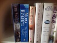Eight books by the author Nora Roberts
