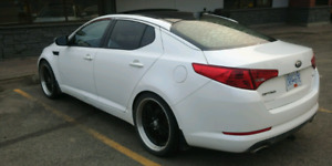 2013 ka optima trade for crew cab truck