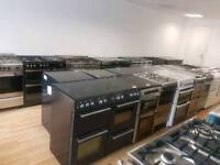 Belling Baumatic Dual Fuel Range Cooker. 3 months warranty