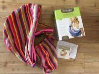 SIMPLY GOOD SNUGLY BABY SLIBG CARRIER 0-36 months EXCELLENT CONDITION CAN POST