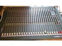 Soundcraft Spirit Live 24 channel mixing desk