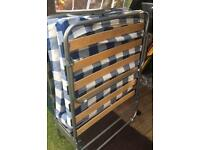 Folding spare bed