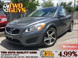 2013 Volvo C30 T5 HEATED LEATHER SUNROOF ALLOYS