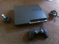 Playstation 3 with remote