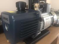 Vacuum pump Javac 2stage and heat pad
