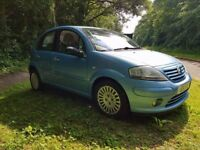 2004 CITROEN C3 1.6 IN METALLIC BABY BLUE MOT UNTIL JUNE 2018 LOW MILES CLEAN CAR INSIDE AND OUT