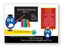 Tutor for Primary KS1, KS2, 11+