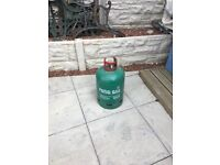 GAS PATIO HEATER AND GAS BOTTLE