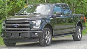 2015 Ford F-150 Lariat (Leather, Navigation, Moonroof!)