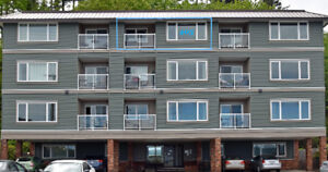 OCEAN VIEW 1 bdr condo on Seawalk Campbell River :Sale by Owner
