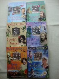 Children's Books - set of 6 'The Historical House' - Fiction