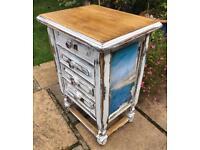 Bedside drawers sidetable oak summer house