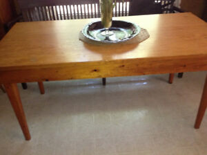 Antique pine harvest table for sale