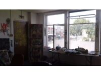 Bright big artist studio/ Office North London