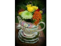 Vintage china / tea party hire Norfolk