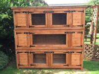 Bespoke rabbit hutches and chicken coops aviaries dog kennels benches made to order