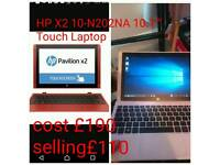"""HP Touch 10-N202NA 10.1"""""""" Touch Laptop"""