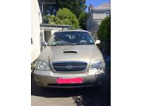 Kia Sedona in great condition for age.