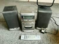 HI-FI Stereo CD Cassette Radio - FREE