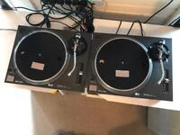 Technics 1210 Mk2 turntables pair - read listing.