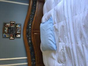 5 piece king size bedroom set