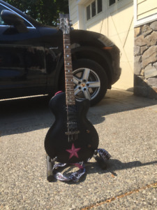 daisy rock candy classic guitar black