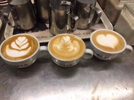 Costa Blandford are looking for Full time and Part time Baristas