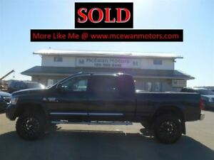 2008 Dodge Ram 3500 Laramie Mega Cab Diesel Lifted