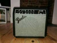 Fender Frontman 15G Electric Guitar Amplifier not working/for parts