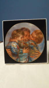 """Reunion"" Collectors Plate by Mago (Doulton International)"