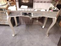Mirror console table