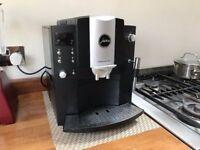 Jura Impressa E85 Bean-to-Cup Coffee Machine (Matt Black)