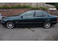 BMW e39 520i LPG Left Hand Drive spares/repairs (cosmetic damage)
