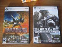 PC game: Supreme Commander - Gold edition