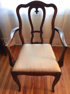 Vintage 1930s dining chairs
