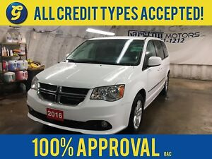2016 Dodge Grand Caravan CREW PLUS*DUAL REAR DVD PLAYER*U CONNEC