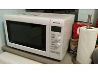 FREE FOR PARTS clean Panasonic microwave NN-GD546W 34cm turntable turn table roller ring Scrap metal