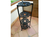 CAST IRON PAN STAND