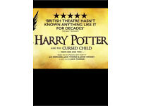 Harry Potter and the Cursed Child - 5th Aug 2 Tickets SWAP