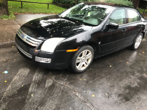 2007 Ford Fusion Sel special edition limited Sedan