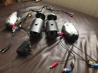 2 cctv cameras