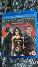 Batman vs Superman Blu-ray