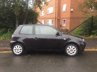 Seat Arosa, Black, 04 Reg, manual, petrol, 1 year MOT, EXCELLENT FIRST CAR!