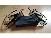 Samsung Active 3D Glasses (SSG-4100GB) 4 Pairs! (NEW)