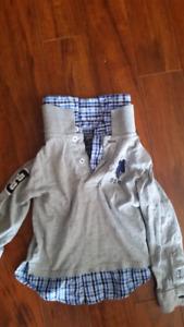 Boys 3t polo shirt