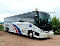 NOW HIRING Class 1 or 2 Drivers for Motorcoach