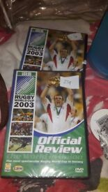 2 rugby world cup 2003 official review - 50p each
