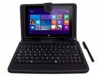 Linx 8 inch Tablet - Black & Keyboard 1Gb RAM, 32Gb storage, Camera, WLAN, BT, & CARRY CASE