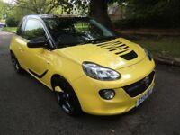 Vauxhall ADAM 1.4 SLAM 100PS (yellow) 2013
